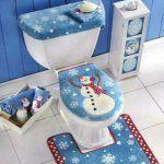set navideño para baño